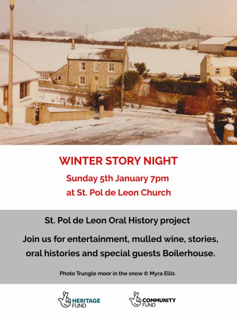 Winter Story Night